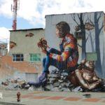 Богота. Город уличных художников