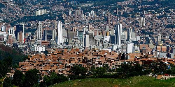 Панорама Богота Колумбия