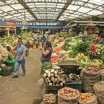 Богота. Овощной рынок