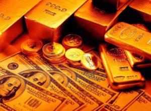 Резервы в золоте