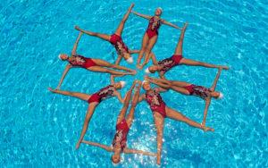Фигура синхронного плавания